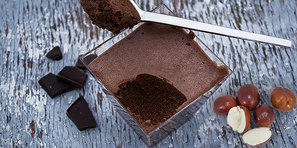 Mousse au chocolat au lait et la cr me de marrons - Mousse au chocolat a la creme ...