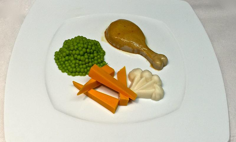 Alimentation à texture modifiée